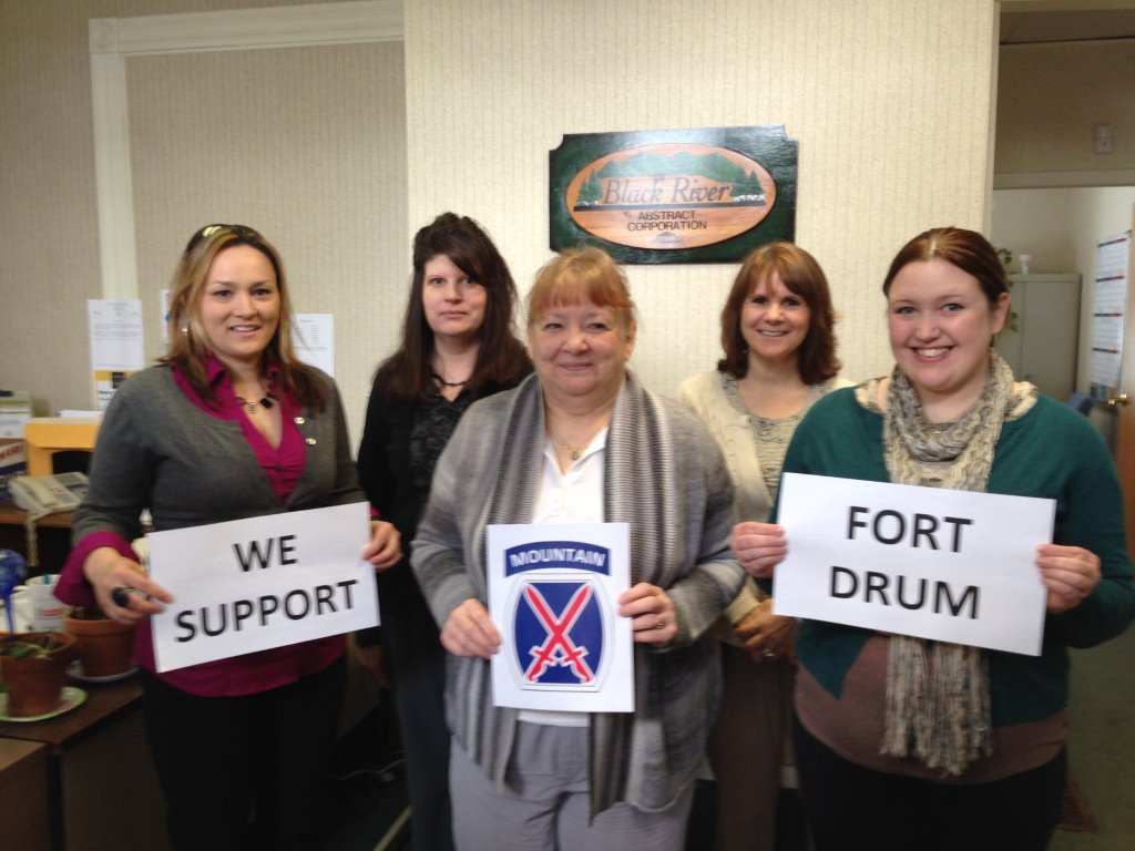 BRV BRA Support Fort Drum