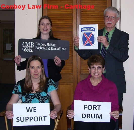 CMBK Carthage Supports Fort Drum