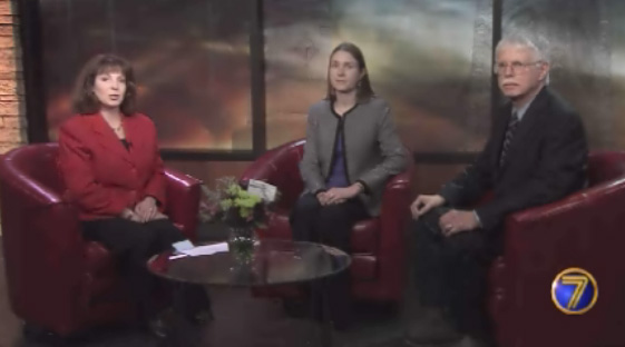 Larry Hasseler and Torie Collins appeared on 7 News to discuss Social Security Disability Insurance